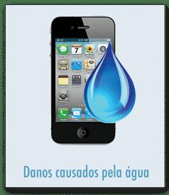 Recuperação de iphone após contato com agua